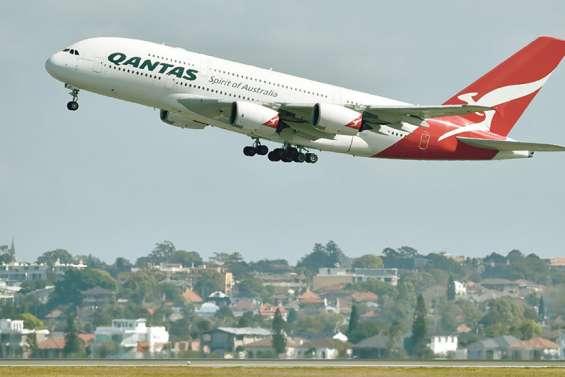 Qantas lance son premier vol « vers nulle part »