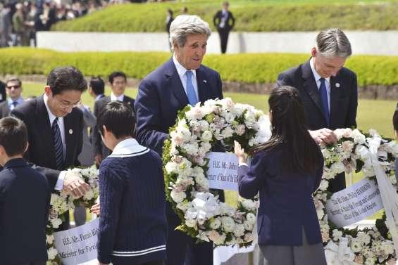 Hiroshima : l'hommage  historique de John Kerry