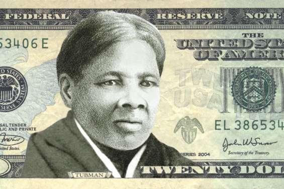 Une femme noire pour la  première fois sur un billet