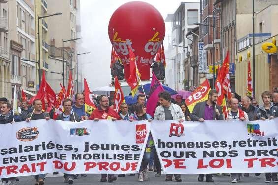 La fronde anti-loi Travails'essouffle mais résiste
