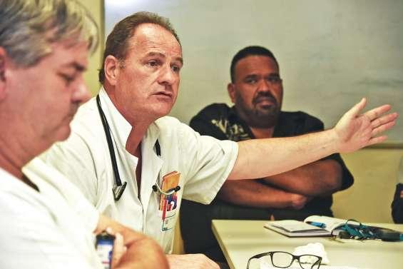 À trois mois du Médipôle, le personnel du CHT affiche son inquiétude