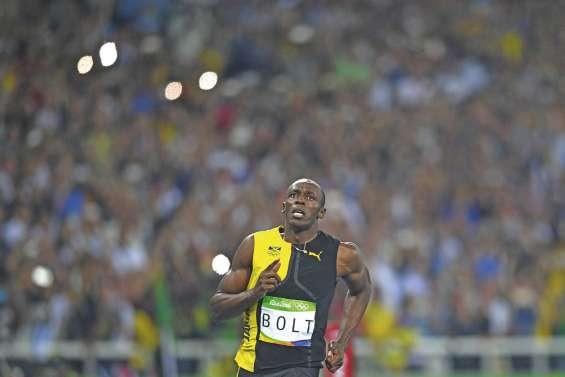 Usain Bolt est seul au monde