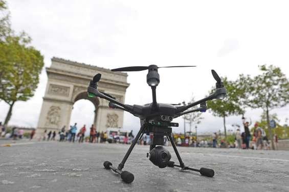 Les drones ont envahi Paris pour une journée