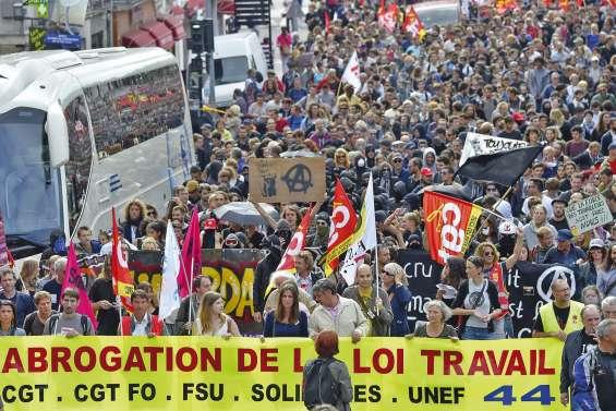 Manifestations contre la loi Travail