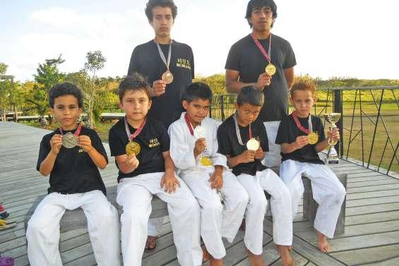 Une moisson de médailles pour les jeunes Lafoyens