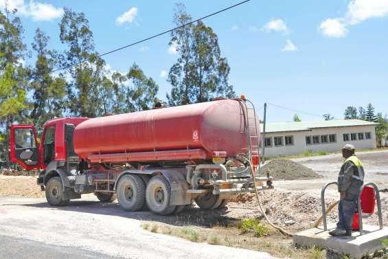 Poum subit les conséquences  de la sécheresse