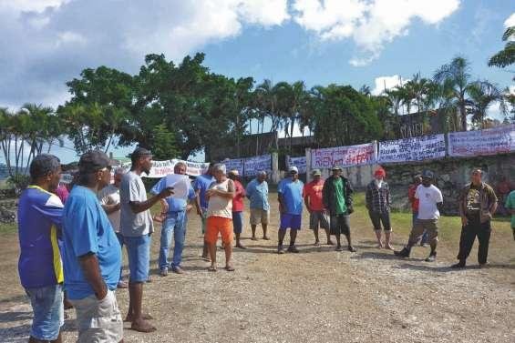 La mairie de Ouégoa bloquée suite aux pénuries d'eau