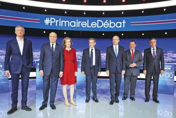 Primaire à droite : les moments forts du débat
