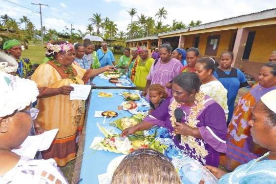 La patate et le tubercule ont été  mis à l'honneur dans deux tribus