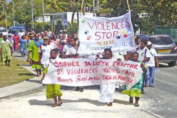 Des voix s'élèvent contre la violence