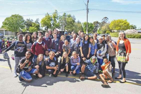 Des élèves de Ouégoa chez leurs correspondants kiwis