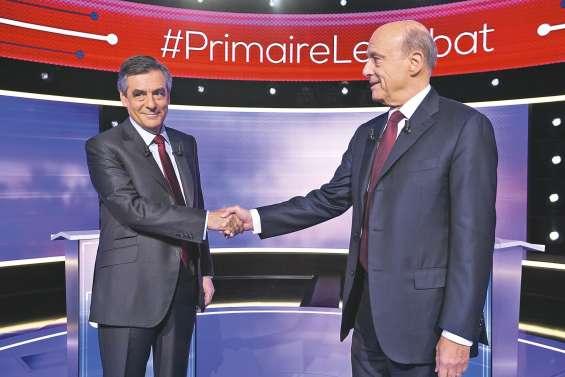 Fillon et Juppé affichent leurs désaccords sans invectives