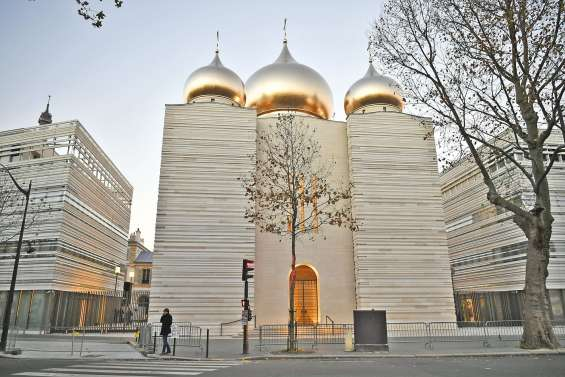 La cathédrale russe consacrée avec faste