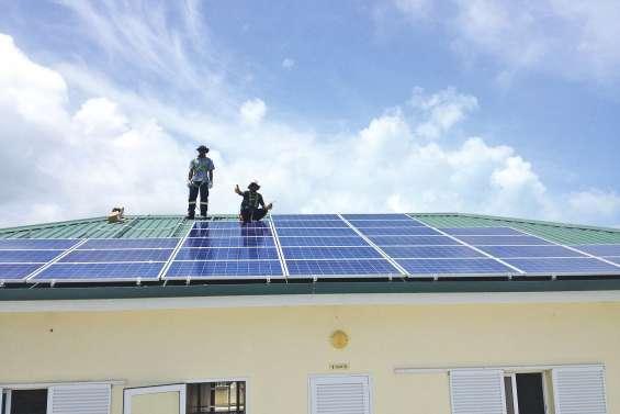 La mairie investit dans l'énergie solaire