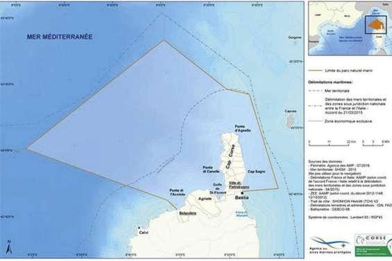 Un nouveau parc naturel marin en Corse
