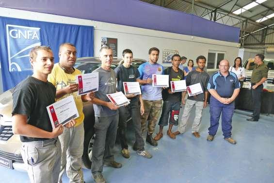 La troisième promotion de  mécaniciens est sortie du GNFA