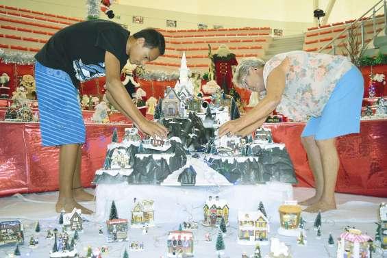 Le village qui distille la magie de Noël