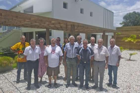 Les anciens combattants en assemblée générale