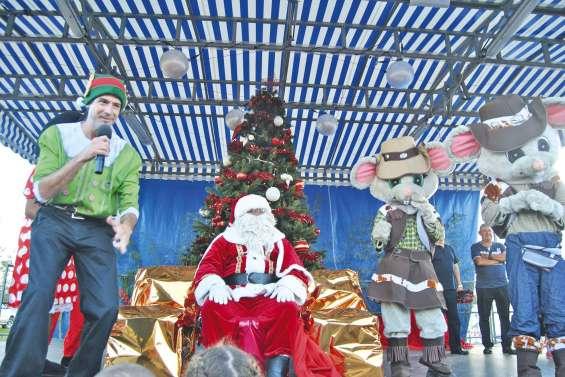 Un après-midi de Noël très animé pour les enfants de la commune