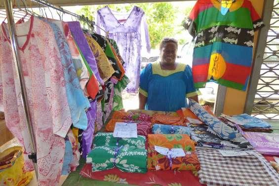 Corinne a transformé sa passion en entreprise de couture