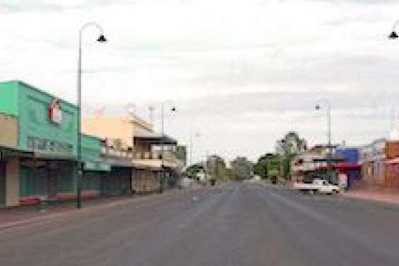 Bourke, la ville où le bitume fond