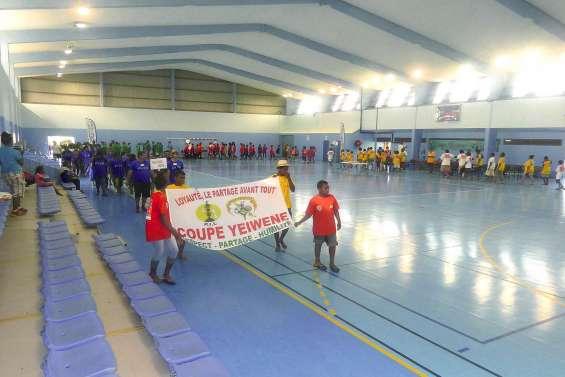 La coupe Yeiwene rassemble les adolescents du pays