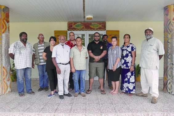 La République des Kiribati cherche des solutions à Ouvéa