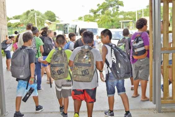 Le programme de la rentrée au collège de Païamboué