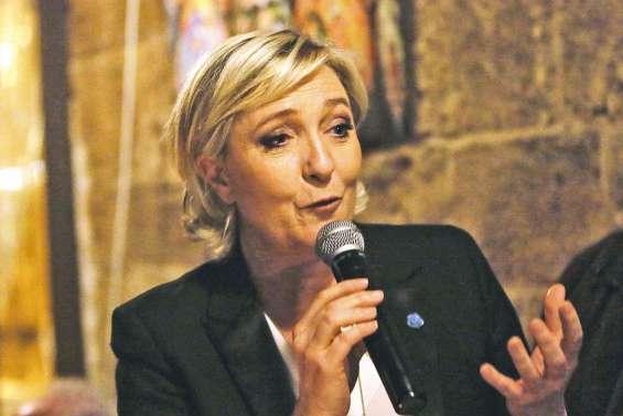 Marine Le Pen en tournée au Liban