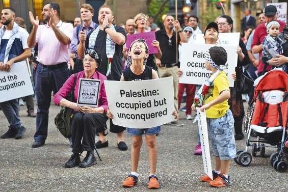 Manifestations contre la visite de Netanyahu