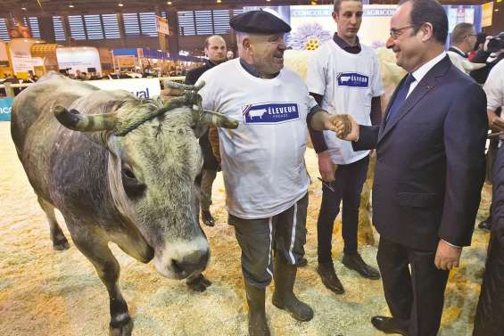 Hollande et un monde paysan découragé