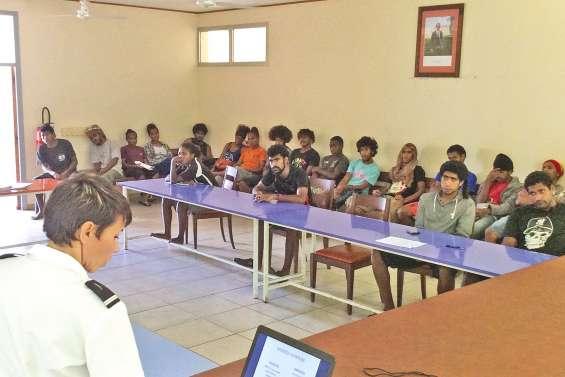 La Marine nationale recrute à Kunié