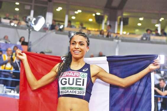 Gueï sacrée championne d'Europe du 400 m