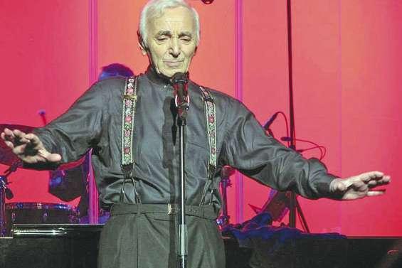 Aznavour donnera trois concerts en juin