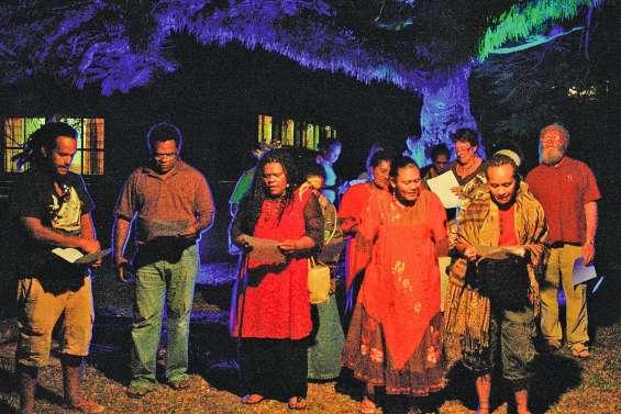 Le festival Lisapo se concentre  au centre culturel Pomémie