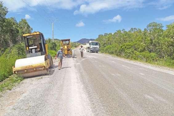 Poum donne priorité à l'eau  potable et aux réseaux routiers