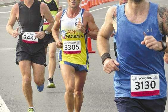 Alain Bombanel 10e  du semi-marathon