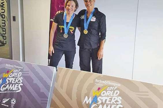 Charlotte Robin à nouveau en or aux Jeux mondiaux à Auckland