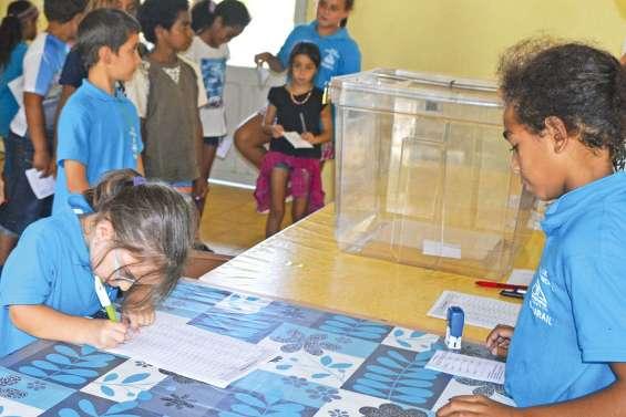 Les écoliers de Louise-Michel ont voté comme les grands