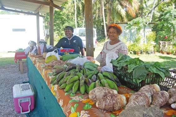 Un petit marché de proximité