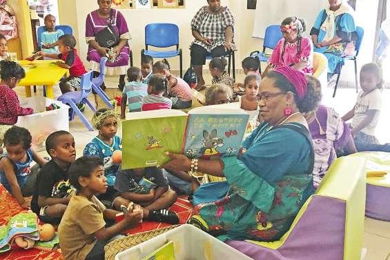 Les bébés lecteurs à la médiathèque