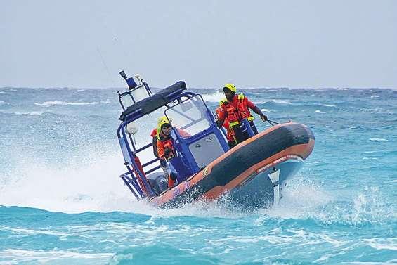 Un entraînement  en mer extrême