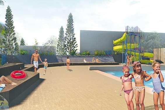 La piscine du Grand Bleu  va devenir un centre aquatique