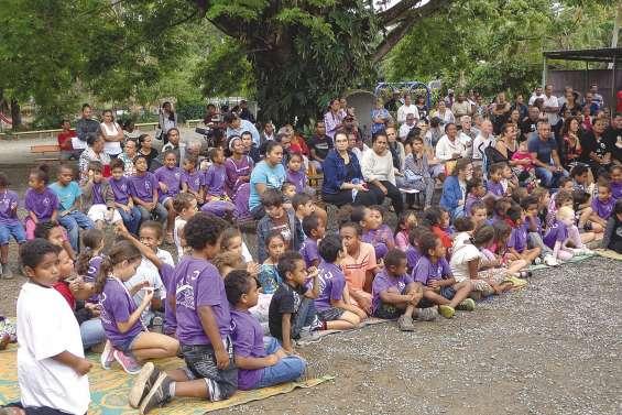 Les enfants ont fêté leurs parents  à l'école Notre-Dame