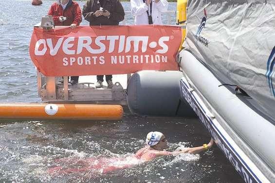 Grangeon championne de France en eau libre