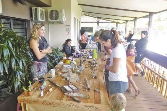 L'artisanat à l'honneur au marché