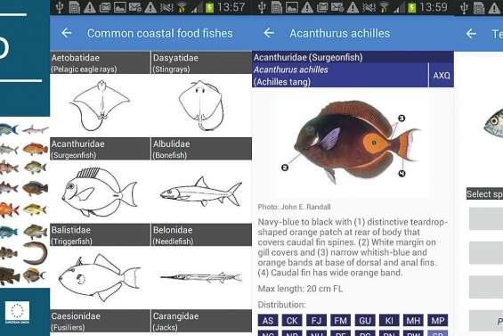 Identifiez vos prises de pêche en un clic