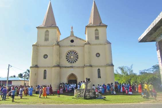 Une démonstration  de foi à Lifou