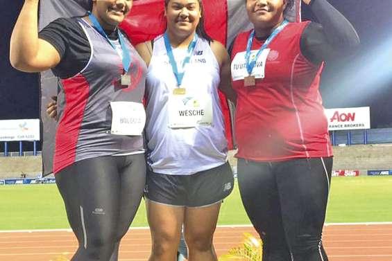 Ashley Bologna démarre fort à Suva