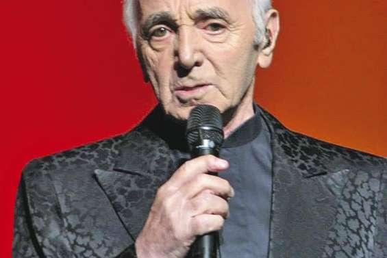 Aznavour en concert